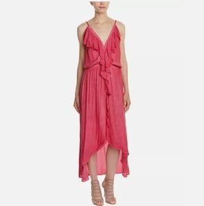 YFB Ruffles Dress  High Low Small